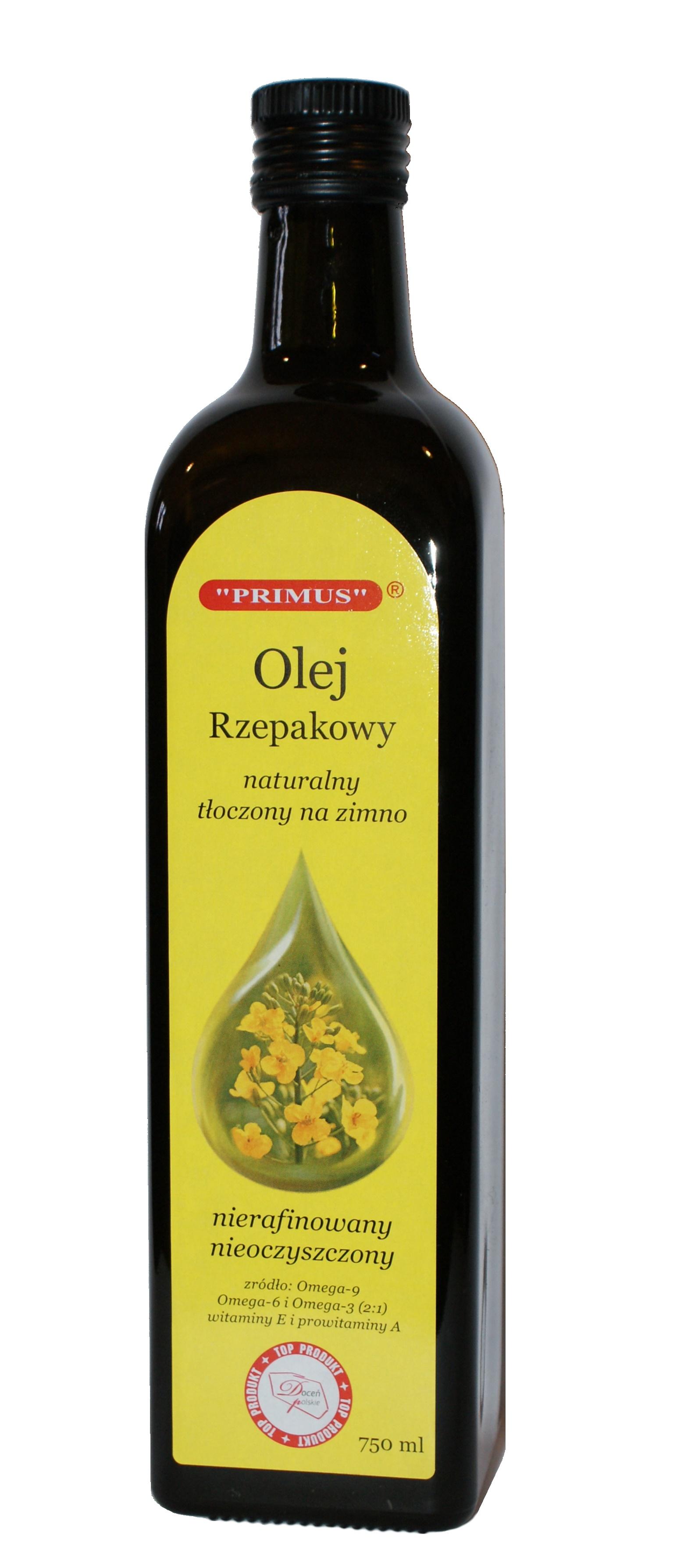 olej rzepakowy 750ml